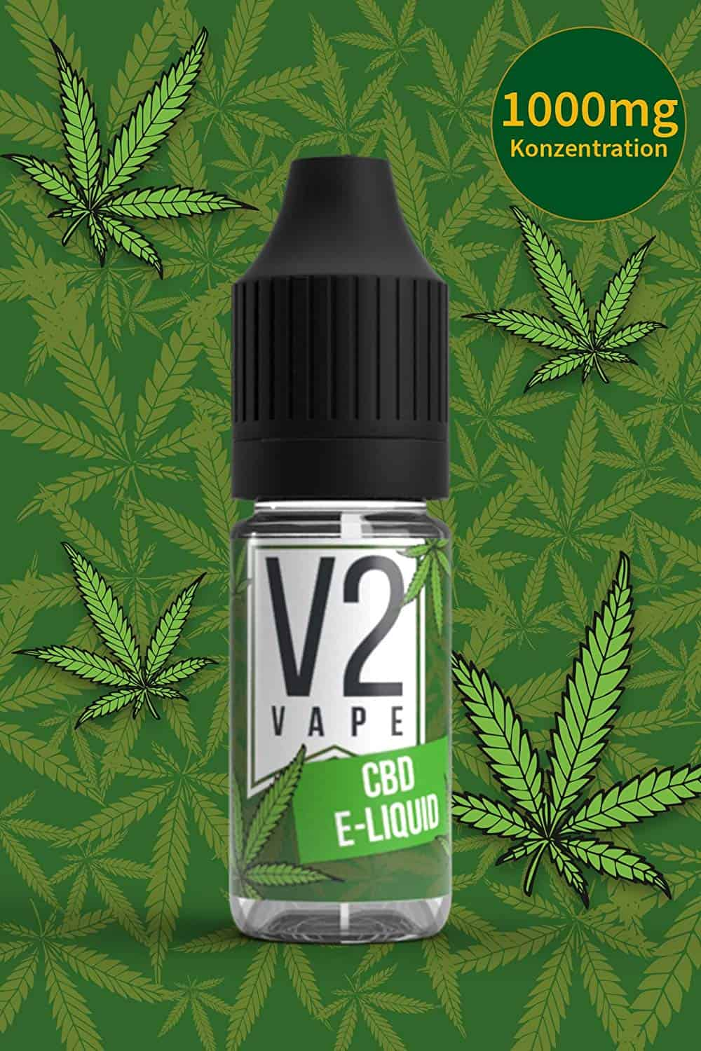 V2 Vape 1000mg CBD liquid