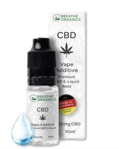 Breathe Organics CBD Liquid 1000mg