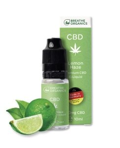 Breathe Organic CBD Liquid Lemon Haze Geschmack