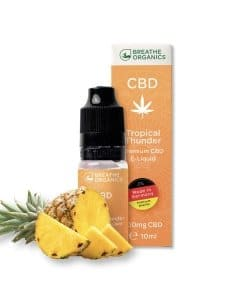 Breathe Organics CBD Liquid Tropical Thunder Geschmack